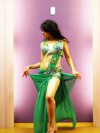 ベリーダンス衣装 グリーン