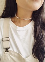 Fresh Water Pearl Mantel Necklace 淡水パールマンテルネックレス