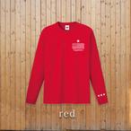 star logo longsleeve【red】