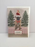 ドイツ直輸入! 可愛いパク犬が素敵なクリスマスカード