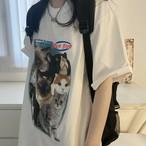 【送料無料】全3色♡ビッグ猫Tシャツ♡