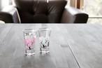 冷感桜 グラス天開ペアセット *丸モ高木陶器* お酒をより楽しむためのおしゃれな酒器!