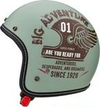 MARUSHIN マルシン オープンジェットヘルメット FEATHER SCJ4 ナチュラルペパーミント L
