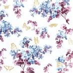 【Home Fashion】バラ売り2枚 ランチサイズ ペーパーナプキン LILLY ホワイト