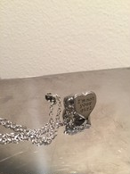 """ I'm not your girl."" Pinky&Necklace silver"