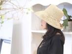 20%【田中帽子店】和紙ツバ広帽子