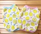 (年契/りぼんちゃん専用)ピンクレモンジュース柄 ラグラン