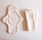 Pour moi  Moon Cloth #ivory basic kit | オーガニックコットン 布ナプキン 基本セット