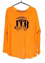 【JTB】 ROUND ロングスリーブTシャツ【オレンジ】【再入荷】イタリアンウェア【送料無料】《M&W》