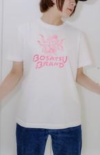 阿修羅Tシャツ 半袖 ホワイト 線ネオンピンク(サイズM・L ) かわいい ゆったりサイズ 男女兼用 仏像Tシャツ