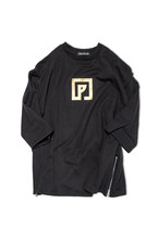 POLYPLUS P-LOGO SIDE-ZIP SWEAT
