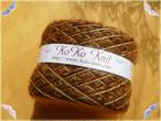 §koko§ Chocolatier ショコラティエ Ⅲ 1玉60g 茶 引き揃え糸、毛糸