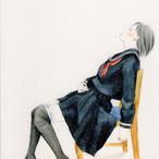 岡藤真依 / ポストカード「私の血潮」