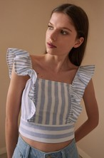 【THE FIFTH LABEL】FRORA STRIPE TOP