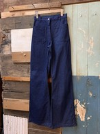 80's usn womens dungaree pants deadstock size/10