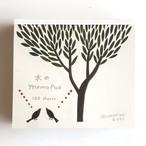 ネクタイ ブロックメモ 木の Memo Pad