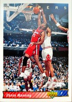 NBAカード 92-93UPPERDECK Danny Manning #271 CLIPPERS