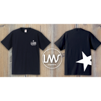 STAR logo T-shirt/navy