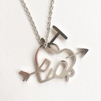 """Dior"" heart necklace[n-233]"