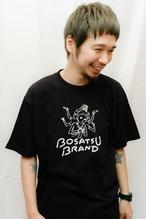 阿修羅Tシャツ 半袖 ブラック 線ホワイト(サイズM・L・XL ) かわいい ゆったりサイズ 男女兼用 仏像Tシャツ