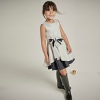 【NEW】LILY OCCASION DRESS SILVER SPARKLE DIAMONDS = JESSIE AND JAMES =