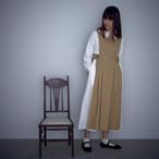 Suie(スィ)Apron Dress ブラウン 【受注オーダー】