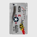 アメリカ海軍A-1スカイレーダー 409号機 iPhoneケース