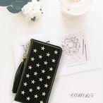 星スタッツ<ダークブラック>ケース ラッフルストラップ付き手帳型デザイン(SPCa0249DBK)◆スマホケース/iPhoneケース