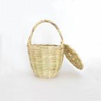 【ご予約品】Jane Birkinのバスケット/ミディアムサイズ/フタあり