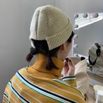 【小物】暖かいニット合わせやすい寒さ対策帽子 23875705