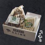 肉厚長生き椎茸500gと 椎茸ソーセージ12本のセット