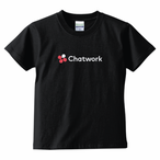 Chatwork LOGO Tシャツ Black(キッズ)