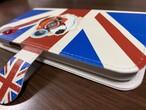 帯付き手帳型スマホケース iPhone XR ユニオンジャック&ベック