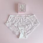 pink hearts panty(baby pink)