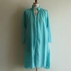 quitan【 womens 】silk khadi frilled tunic