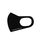 White Mountaineering MASK - BLACK