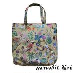 新商品《鳥》トートバッグ ナタリーレテ ゴブラン織り NathalieLete bird
