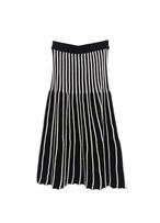 Knitting Stripe skirt ニット ストライプスカート