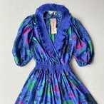 Made in USA 80s Susan freis deadstock dress