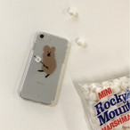 [DINOTAENG] Smore クリア iPhone ケース(7/8,X/Xs,XR,11)