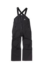 2021unfudge snow wear // PEEP BIB PANTS // BLACK