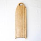 カッティングボード Mロング (ナラの木) エゴマ油仕上げ (43.3×13.3)