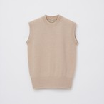 Sleeveless Knit / Sand Beige