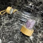 ●天然石ボトル● 耐熱 入替可能 カラフル ハーバルティー ハーブ パワーストーン ヨガ フィットネス ムーンウォーター