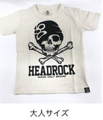 HEADROCK大人 ドクロマスクTシャツ 920022