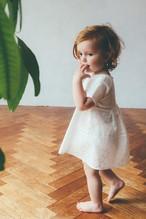 Lace top mini WHITE