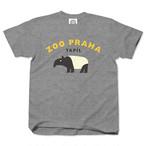 ZOO PRAHA Tapirus heather gray