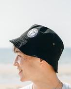 ALOHA SURF Bucket HAT (black)