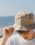 ThreeArrows 刺繍 Bucket Hat (beige)
