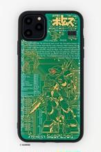 FLASH スコープドッグ 基板アート iPhone 11 Pro Maxケース 【東京回路線図A5クリアファイルをプレゼント】